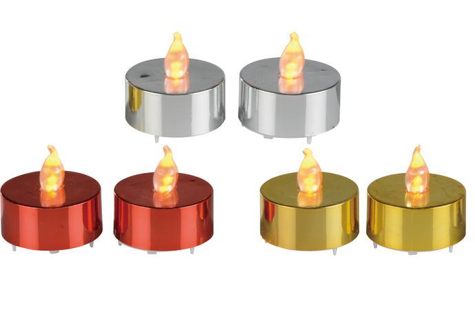 Čajová svíčka LED 2ks