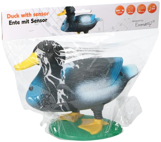 Plastová kvákající kachna se senzorem TORO