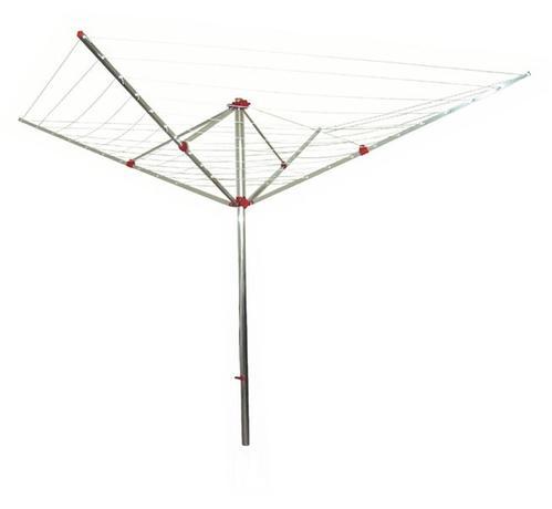 TORO sušák zahradní kolotoč čtyři ramena 190 x 185 x 190 cm