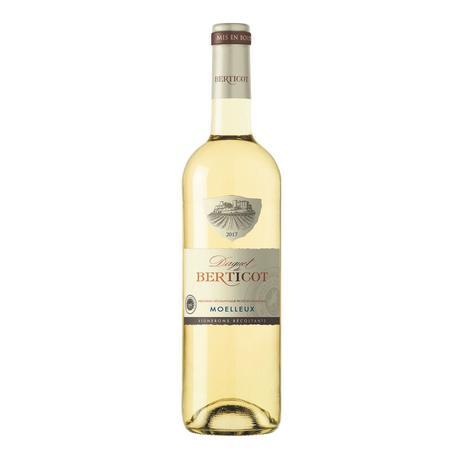 Moelleux BERTICOT 0,75l bílé víno