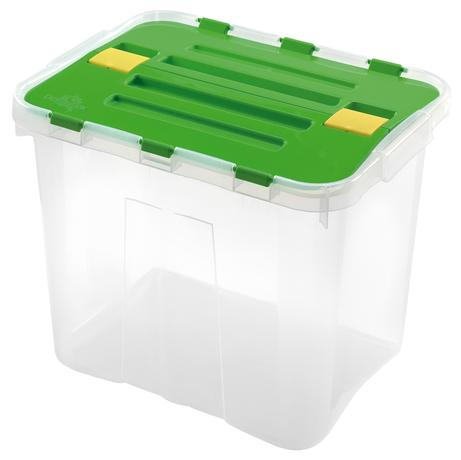heidrun BOX ÚLOŽNÝ S VÍKEM 24L, PLAST, 39X29X30 CM