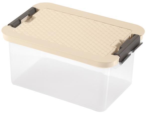 heidrun BOX ÚLOŽNÝ S VÍKEM 8L,R-BOX,PLAST,34X23X16CM