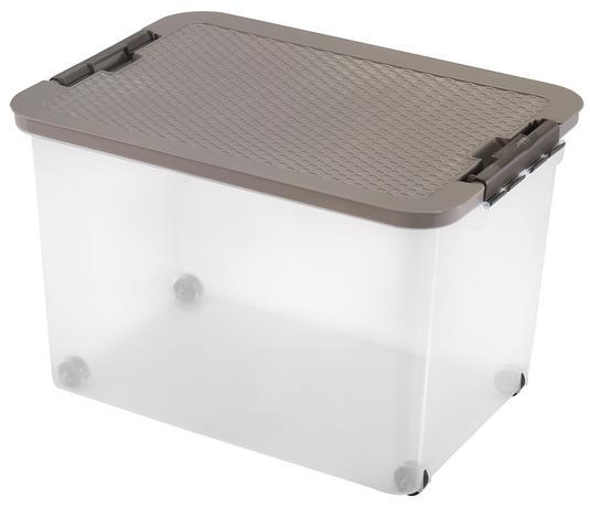 heidrun BOX ÚLOŽNÝ S VÍKEM 45L,R-BOX,PLAST,52X36,5X34CM