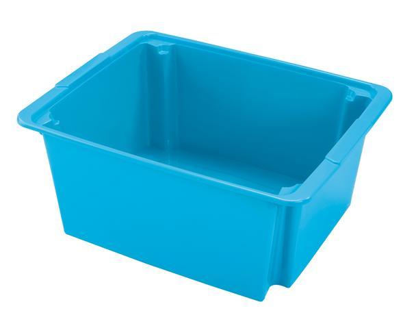 BOX ÚLOŽNÝ 22L, PLAST, MIX BAREV