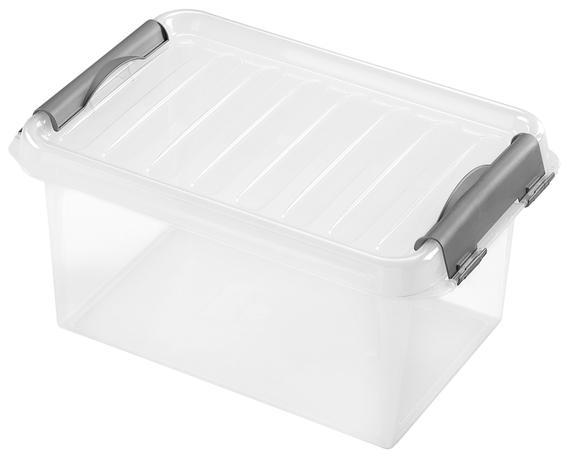 heidrun BOX ÚLOŽNÝ S VÍKEM 4L, PLAST, 27,5X18,5X13 CM