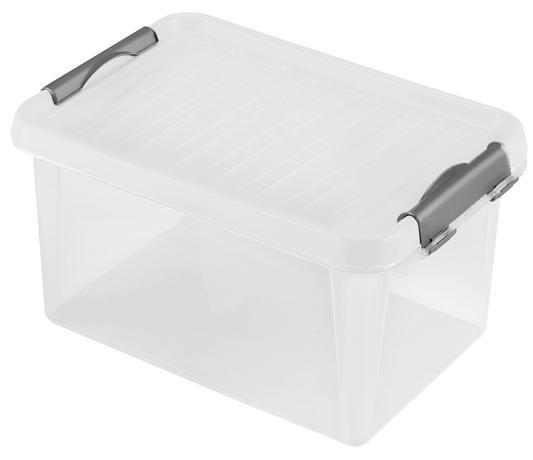 8110e6ffe Plastový úložný box s víkem HEIDRUN Clip box 8l | Kitos - pokaždé ...
