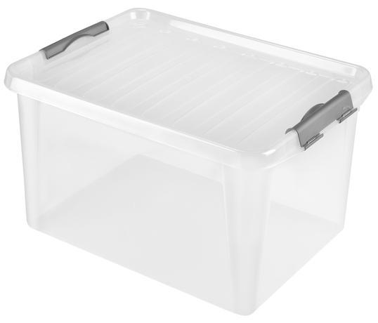 heidrun BOX ÚLOŽNÝ S VÍKEM 31L, PLAST, 48X35X25CM
