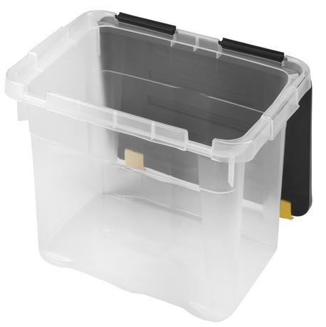 heidrun BOX ÚLOŽNÝ S VÍKEM 18L, PLAST, 39,5x27x27,5 CM