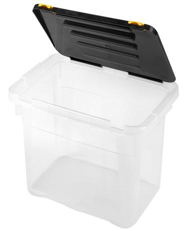 Plastový úložný box s víkem HEIDRUN One 18l