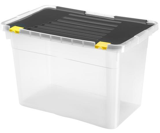 heidrun BOX ÚLOŽNÝ S VÍKEM 54L, PLAST, 58X36,5X37,5 CM