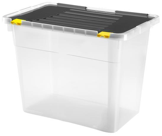 Plastový úložný box s víkem HEIDRUN One 100l