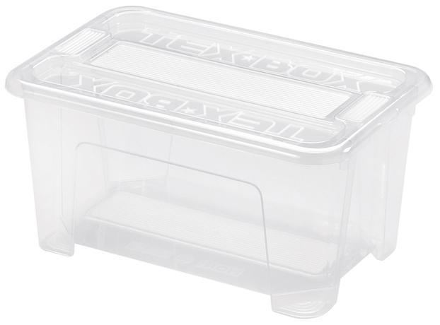 heidrun BOX ÚLOŽNÝ S VÍKEM 28X18,5X14CM, PLAST