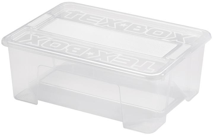 heidrun BOX ÚLOŽNÝ S VÍKEM 38X28X14CM, PLAST