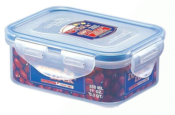 Dóza na potraviny Lock - obdélník,350 ml