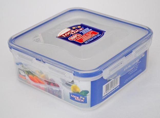 Dóza na potraviny LOCK 4 přihrádky 870ml