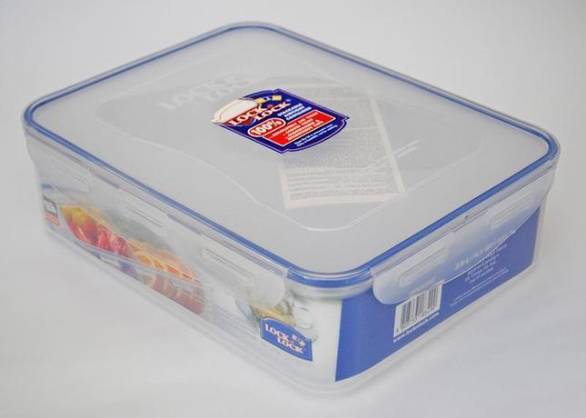 Dóza na potraviny LOCK 4 přihrádky 3900ml
