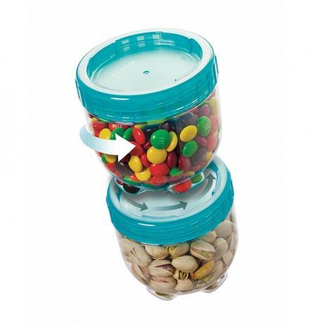 Dóza na potraviny Interlock, 150 ml, modrá