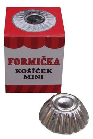 Formičky na cukroví 30ks mini košíček