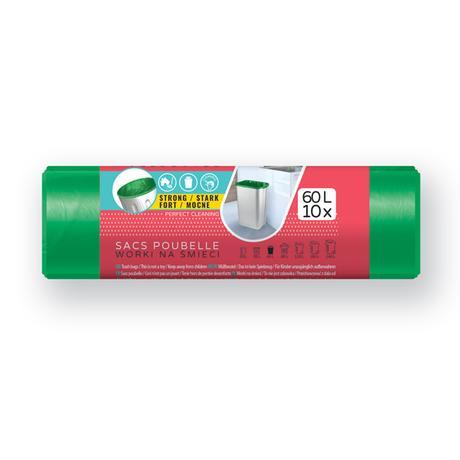 Pytle na odpad 60l VIGO 10ks zelený