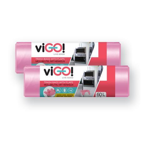 Pytle na odpad s uchy 60l VIGO set 2x18ks jah...