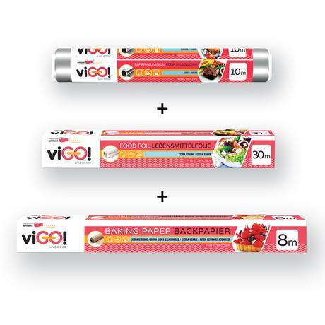 Set ViGO!alobal + pečící papír + potravinová ...