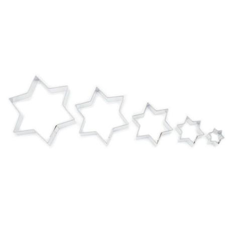 Smolík Vykrajovátka na cukroví - hvězdičky, hladké
