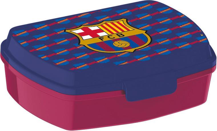 SVAČINOVÝ BOX FC BARCELONA 17,5X14,5X6,5 CM