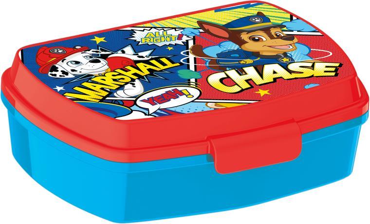 Plastový svačinový box Paw Patrol 17,5x14,5x6...