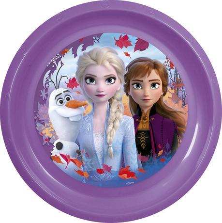 Plastový talíř Ledové království 22cm