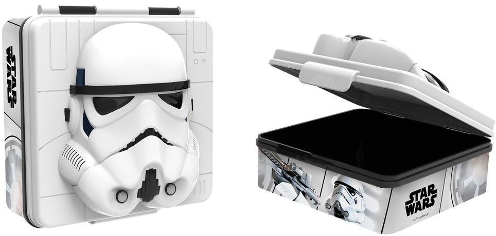SVAČINOVÝ BOX PLASTOVÝ 3D STAR WARS, 600 ML