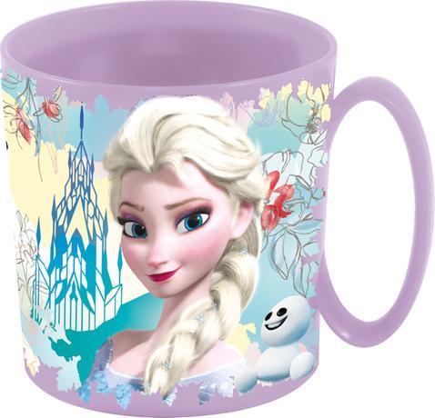 DISNEY Plastový hrnek Frozen hrneček Frozen Anna a Elsa 350 ml