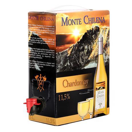 Chardonnay Monte Chilena 3l, Bag-in-box