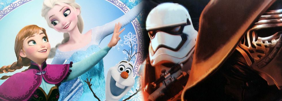 STAR WARS a FROZEN