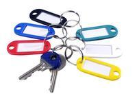 Rozlišovač klíčů s popisem 6 ks,  6, 5 x 2, 3 cm