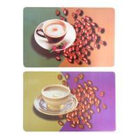 """Prostírání """"káva s kávovými zrny"""" 28 x 43 cm"""