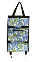 Nákupní taška na kolečkách - květina 31,7 x 15,5 x 53 cm