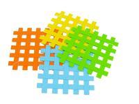 Silikonová podložka,  kostky,  17, 5 x 17, 5 x 0, 2 cm