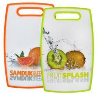 Kuchyňské prkénko, ovoce, plast