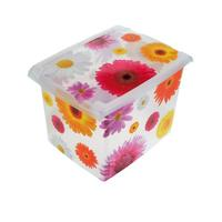 Úložný box s víkem - 38 x 27 x 28,5 cm, 20,5 l