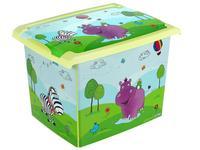 Úložný box HIPPO - 39 x 29 x 27 cm, 20,5 l