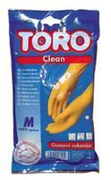 gumové rukavice TORO,  velikost M