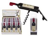Otvírák na lahve s vývrtkou, tvar víno