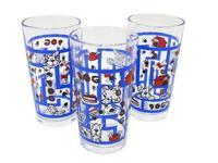 sklenička linda set 3 ks, 6,5 x 12 cm