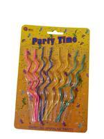 Party svíčky spirálky, 14 cm