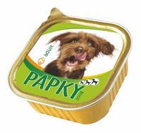 Papky paštika pro psy, hovězí, 300 g