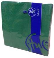 Ubrousky 2-vrstvé St. Magic - tmavě zelená, 20 ks