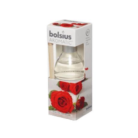 Bolsius   Osvěžovač vzduchu - Bolsius, růže, objem 45 ml