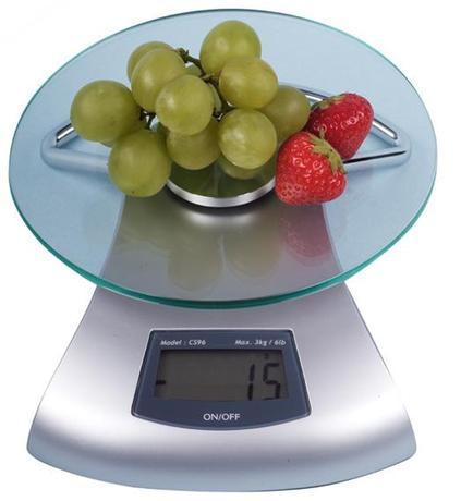 Provence   kuchyňská váha digitální do 3 Kg 17 x 5,6 cm
