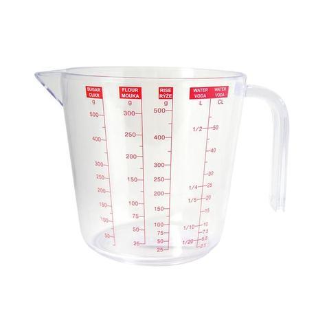 TORO | Odměrka plastová, objem 0,5 l