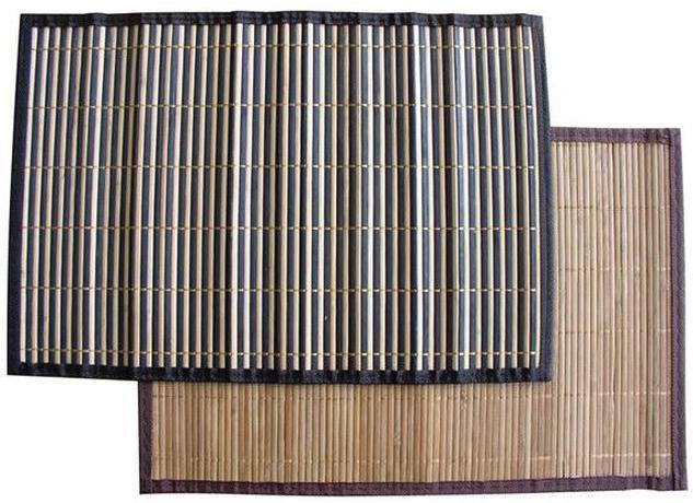TORO | Bambusové prostírání s obrubou set 4 ks, 30 x 45 cm